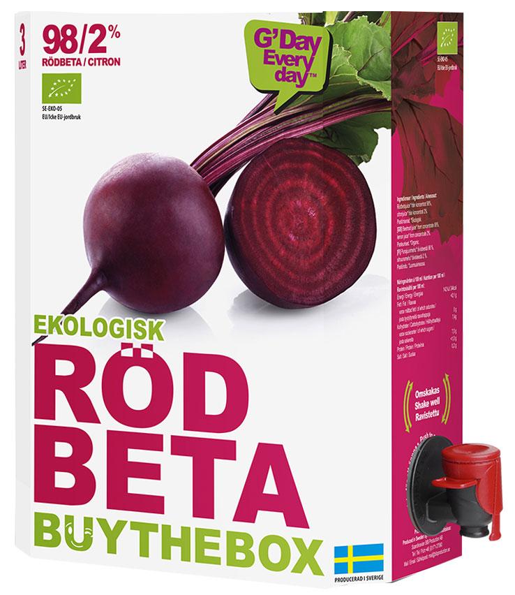 Rödbetsjuice från Buy The Box